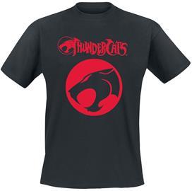 Thundercats - Distressed Logo - T-paita - Miehet - Musta