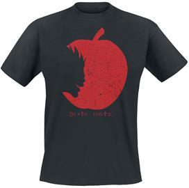 Death Note - Ryuks Apple - T-paita - Miehet - Musta