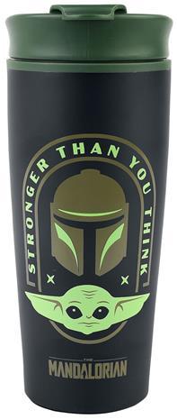 Star Wars - The Mandalorian - Stronger Than You Think - Muki - Unisex - Musta vihreä