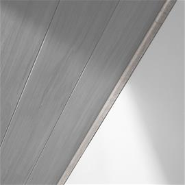 Kattolista Logoclic Carrara 6 x 25 x 2600 mm