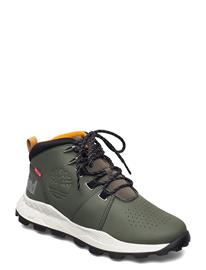 Timberland Brooklyn City Mid Dk Grn Korkeavartiset Tennarit Vihreä Timberland GRAPE LEAF
