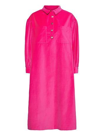 Lovechild 1979 Carin Dress Polvipituinen Mekko Vaaleanpunainen Lovechild 1979 FUSHIA PINK
