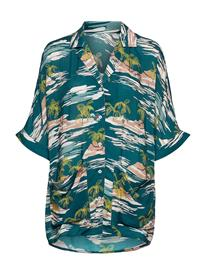 Scampi Hawaii Dress Rantavaatteet Sininen Scampi HAWAII