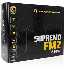 Silentium Supremo FM2 Gold 650W , virtalähde