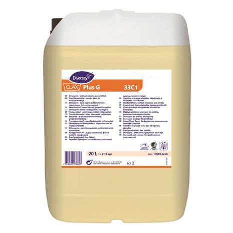 Clax Plus G 33C1 20 l tekstiilien pesuaine