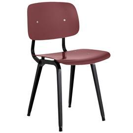 Hay Revolt tuoli, musta - luumunpunainen