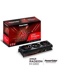 Powercolor Radeon RX 6800 Red Dragon 16 GB, PCI-E, näytönohjain