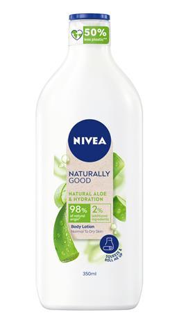 Nivea Naturally Good Aloe Vera 350 ml vartalovoide