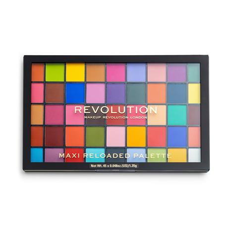 Makeup Revolution Maxi Reloaded Palette Monster Mattes 16,5 g luomiväripaletti
