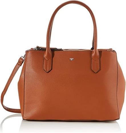 Tom Tailor Roma -käsilaukku, konjakinruskea