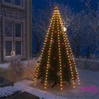 vidaXL Joulukuusen valoverkko 300 LEDiä IP44 300 cm