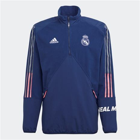 adidas Real Madrid Travel Fleece Top, Miesten paidat, puserot ja neuleet