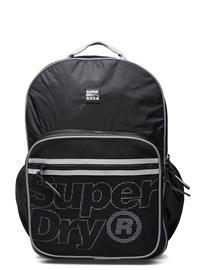 Superdry Scholar Reppu Laukku Musta Superdry BLACK