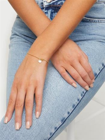 ENAMEL Copenhagen Ball Chain Bracelet White
