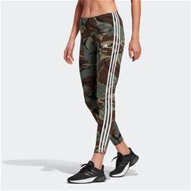 adidas adidas Essentials Camouflage 3-Stripes 7/8 Leggings, Naisten housut ja muut alaosat