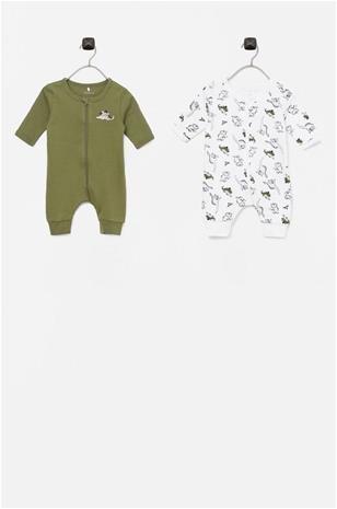 Name it Pyjamat nbmNightsuit Zip, 2/pakk., Lastenvaatteet