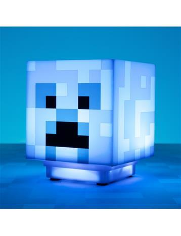 Minecraft Charged Creeper Light, paristokäyttöinen tunnelmavalaisin jossa äänet