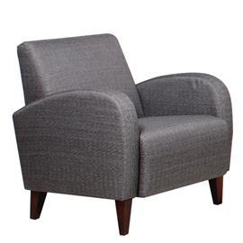 Ida-nojatuoli, harmaa