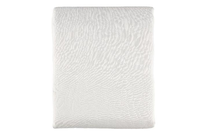 4Living Sofia -päiväpeite, valkoinen, 240 x 240 cm