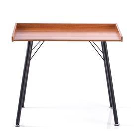 Työpöytä Fey 90x50x75 cm, pähkinä