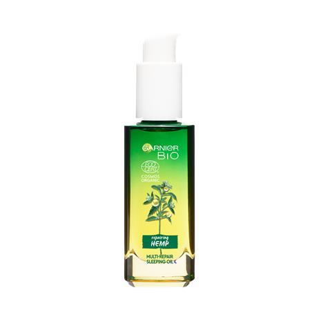 Garnier Bio yön kasvovoide orgaanisella hampunsiemenöljyllä ja E-vitamiinilla, 30ml