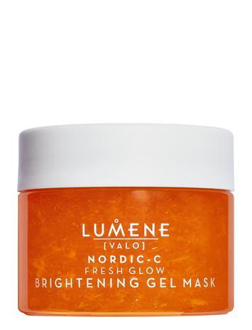 LUMENE Nordic-C Fresh Glow Brightening Gel Mask Beauty WOMEN Skin Care Face Face Masks Nude LUMENE NO COLOUR, Meikit, kosmetiikka ja ihonhoito