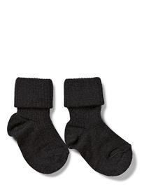 mp Denmark Anklesock 2/2 Pad Baby Night & Underwear Socks Musta Mp Denmark Anthracite