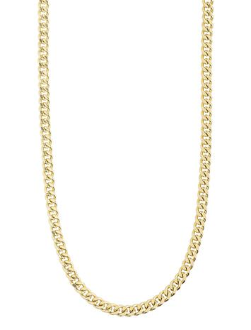 Pilgrim Necklace : Fuchsia : Gold Plated Accessories Jewellery Necklaces Dainty Necklaces Kulta Pilgrim GOLD PLATED