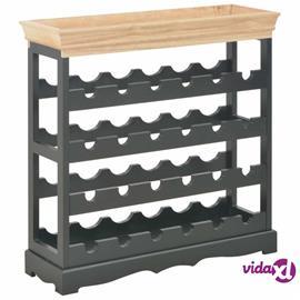 vidaXL Viinikaappi musta 70x22,5x70,5 cm MDF, Laatikostot, hyllyt, kaapit, TV-tasot yms.