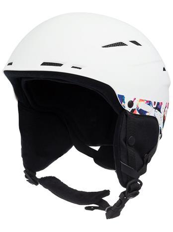 Roxy Alley Oop Helmet bright white magic carpet Naiset