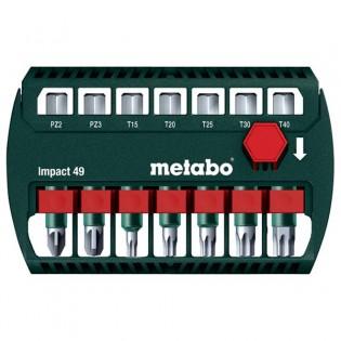 Metabo ruuvauskärkisarja Impact 49mm 7-osainen