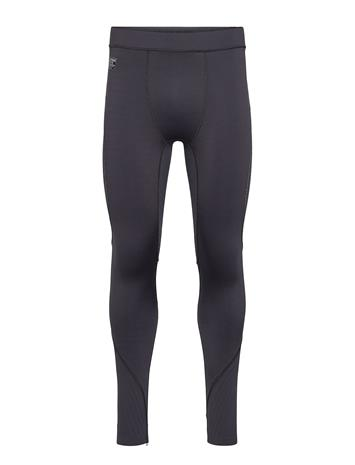 Superdry Performance Flock Compression Legging Sport Pants Musta Superdry BLACK