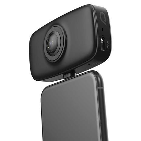 Kandao QooCam Fun, toimintakamera (voidaan kiinnittää Android-älypuhelimeen)