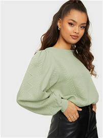 Only Onlcable L/S O-Neck Swt Desert Sage