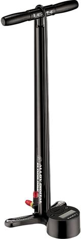 Lezyne Digital Drive 3.5 Floor Pump Aluminium, black gloss