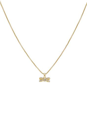 Ted Baker Sabena Accessories Jewellery Necklaces Dainty Necklaces Kulta Ted Baker GOLD/CRYSTAL