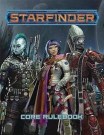 Starfinder Roleplaying Game: Starfinder Core Rulebook, kirja
