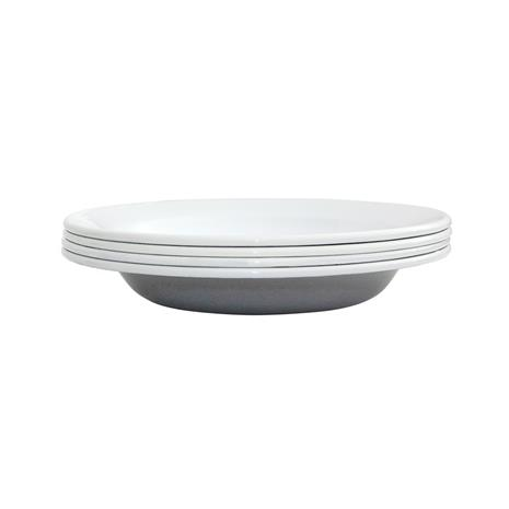 Kockums Jernverk Kockums Paket syvä lautanen 22 cm, 4-pakkaus Kockums Grey