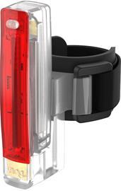 Knog Plus LED Rear Light, red/transparent