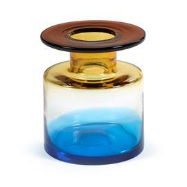Serax Wind & Fire -maljakko 22 cm Blue-amber