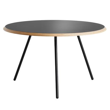 Woud Soround sohvapöytä, 75 cm, musta nanolaminaatti