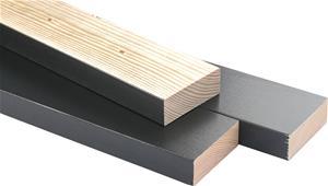Asennusrima Maler Mänty Musta 22 x 42 x 600 mm 5 cm