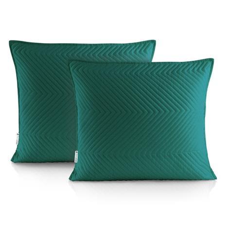 Messli-tyynynpäälinen, t.vihreä, 45 x 45 cm, 2 kpl