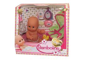 BAMBOLINA doll with bathing set Amore, 30cm, BD1839