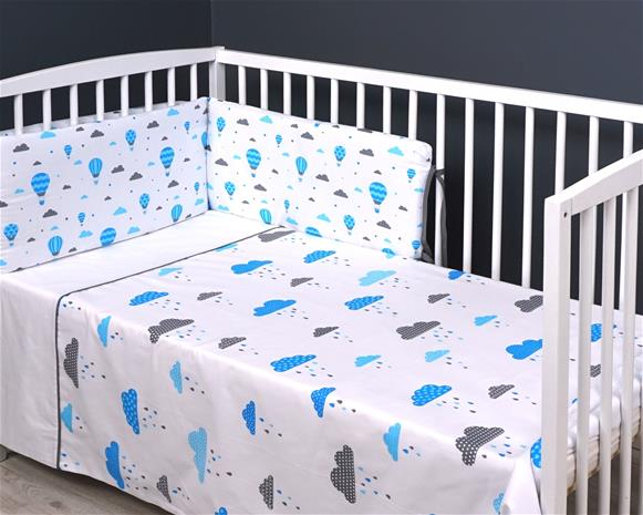 MILLI 2-os. vuodevaatteet Blue/ Rain 135x100, 40x60 cm