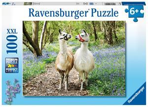 Ravensburger Llama Love 100p XXL palapeli