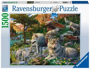 Ravensburger Wolves In The Spring 1500p palapeli