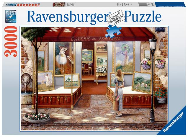 Ravensburger Gallery of Fine Arts 3000p palapeli