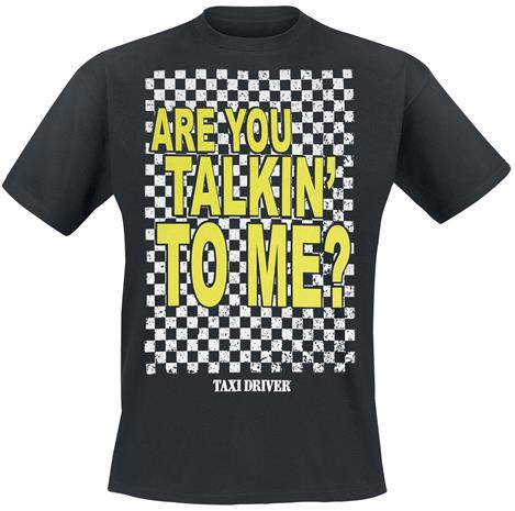 Taxi Driver - Are You Talkin´ To Me? - T-paita - Miehet - Musta