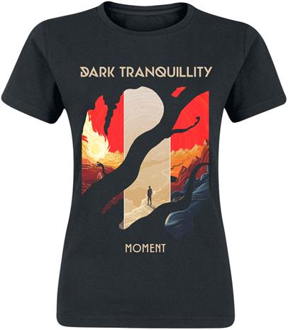 Dark Tranquillity - Moment - T-paita - Naiset - Musta